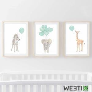 Affiche murale pour chamber de bébé