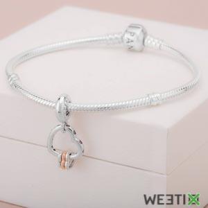 Bijoux Pandora pour femme - Charms et perles en argent