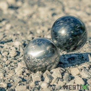 Jeu de 3 boules de pétanques - Obut