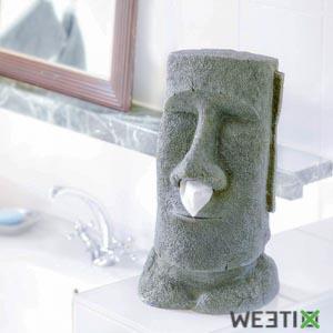 Distributeur de mouchoirs en papier - Moai