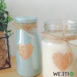 Kit pour faire soi même des bougies écologiques