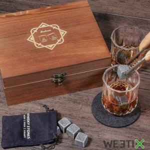 Ensemble verres et pierres  à whisky
