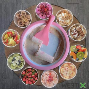 Ice Cream Maker - Machine à glace en rouleau