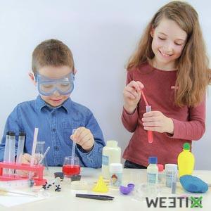 Jeu la chimie sans dangers - 150 expériences