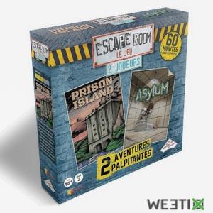 Coffret d'escape room spécial 2 joueurs