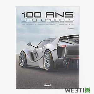 Livre sur les 100 ans de l'automobile