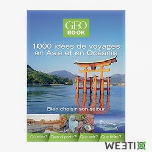 1000 idées de voyages en Asie - GEOBook