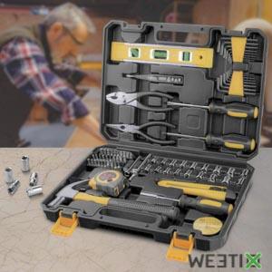 Mallette à outils - 78 pièces