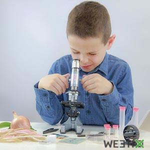 Microscope pour enfant avec 30 expériences