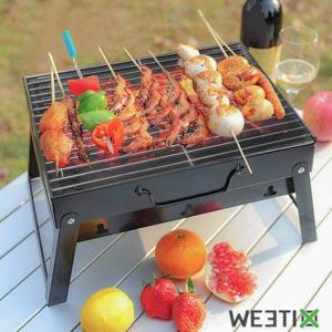 Mini barbecue de table pliable