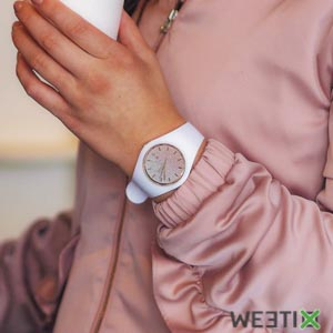 Montre Ice Lo White Pink pour femme - Ice Watch
