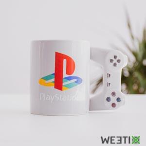 Mug manette de Playstation - tasse à café PS officielle