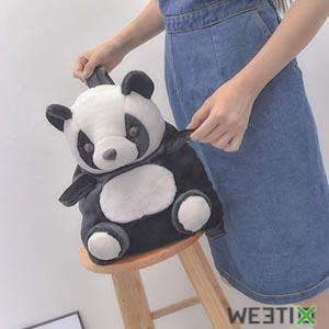 Sac à dos panda pour accompagner votre enfant à l'école