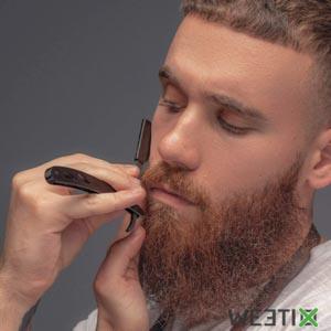 Rasoir à barbe double lame - Shavette