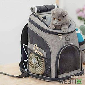 Sac à dos de transport pour chat ou chaton
