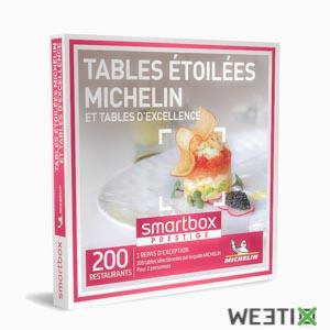 Coffret tables étoilées Michelin - Smartbox