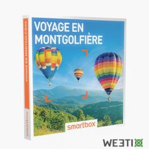 Coffret voyage en montgolfière - Smartbox