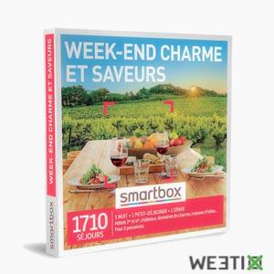 Coffret week-end charme et saveurs - Smartbox