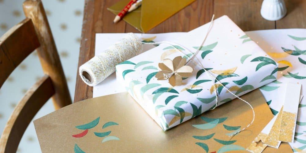 emballage cadeaux fait maison